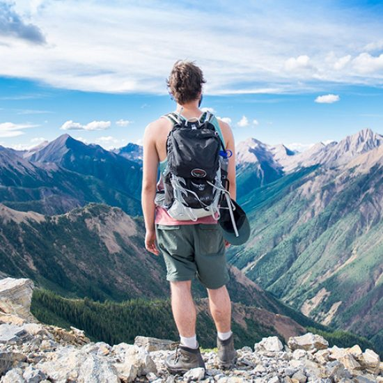 Alpy výhled